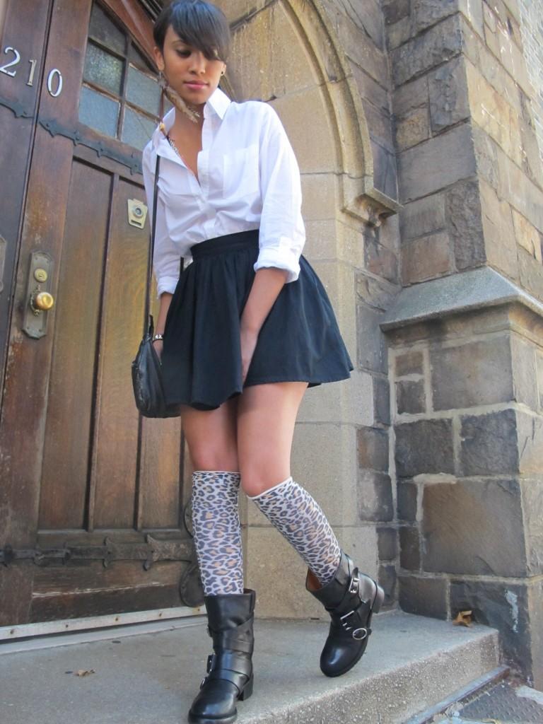 School Girl S Knee Socks